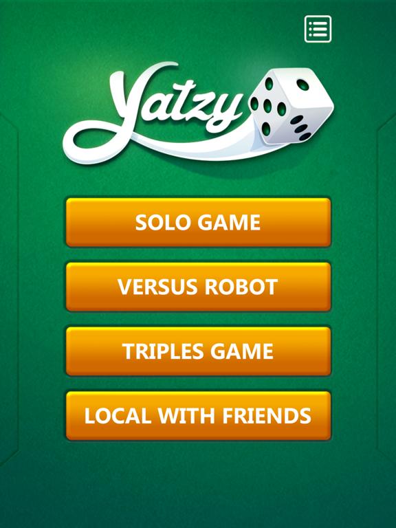 Ipad Screen Shot Yatzy Dice Game 3