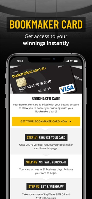 Bookmaker com au on the App Store