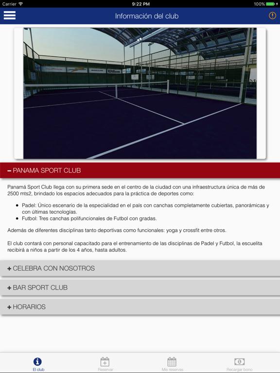 Panama Sport Club - PSC screenshot 6