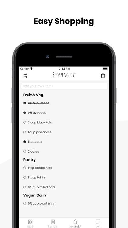 FIVESEC HEALTH: Vegan Recipes screenshot-4