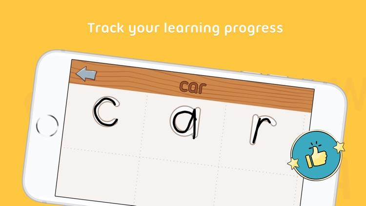 iTrace — handwriting for kids screenshot-3