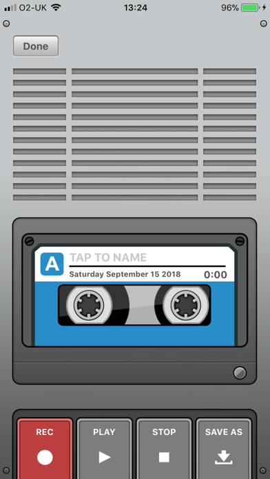 Voice Recorder & Audio Editor screenshot one