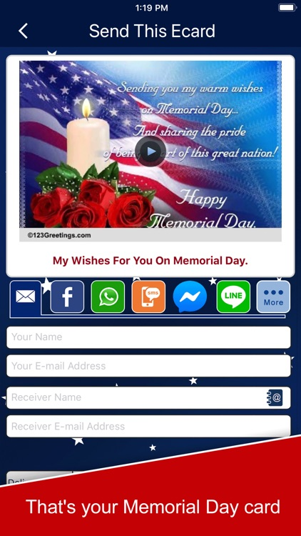 Memorial Day Cards and Wishes