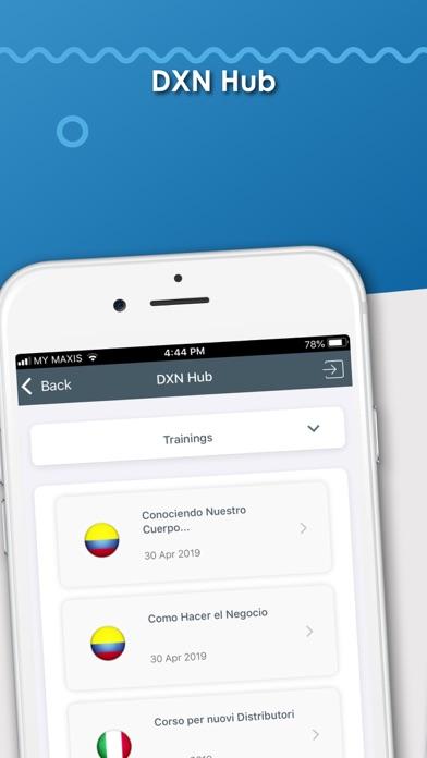 DXN APPScreenshot of 2