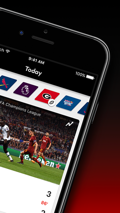 Screenshot for Bleacher Report Live in United States App Store