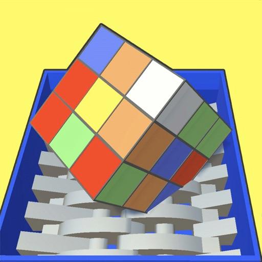Shredder vs Cubes