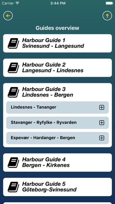 Harbour Guide screenshot two