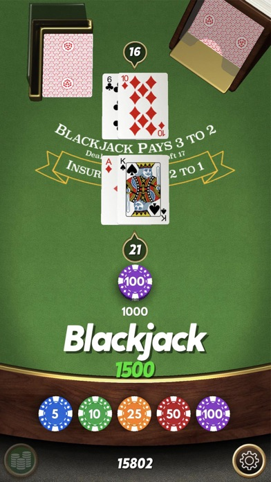 Blackjack    screenshot 1
