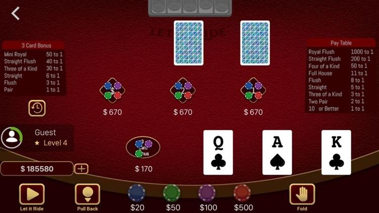 Let it Ride Poker Casino screenshot-3