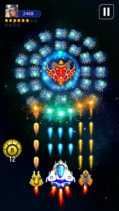 Galaxy Attack: Space Shooter screenshot 3