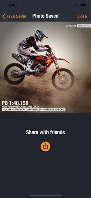 MYLAPS Speedhive Screenshot