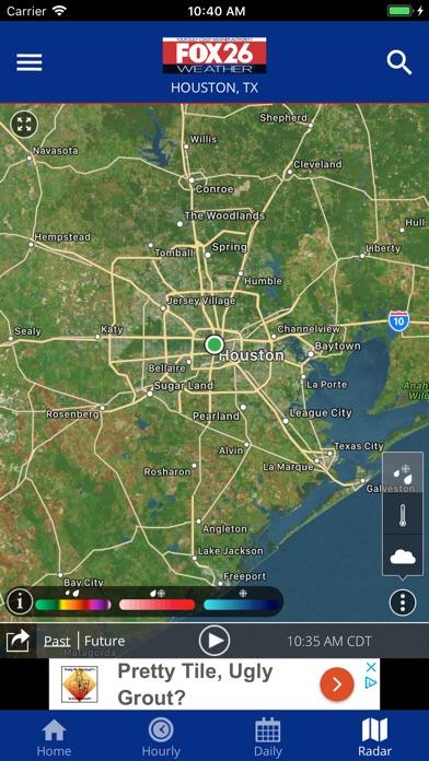 Screenshot for Fox 26 Houston Weather – Radar in United States App Store