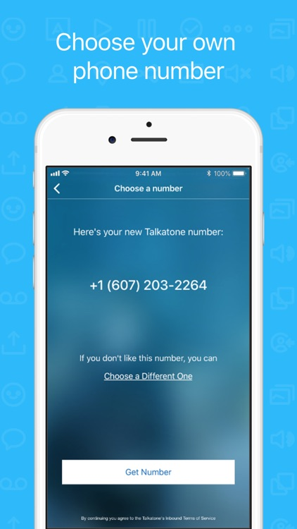 Talkatone: WiFi Text & Calls screenshot-6