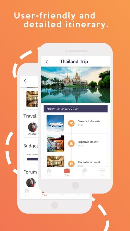 WaktuIN : Travel Planner