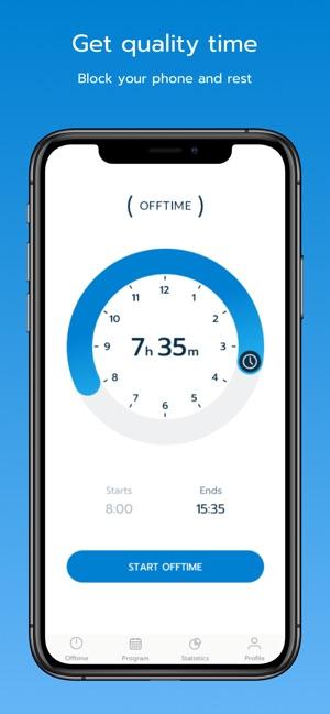 OFFTIME: the App to unplug Screenshot