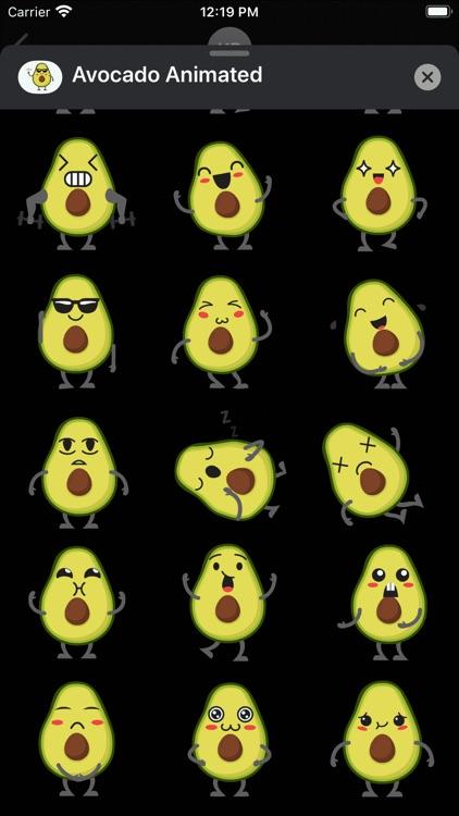 Avocado: Animated Stickers screenshot-5
