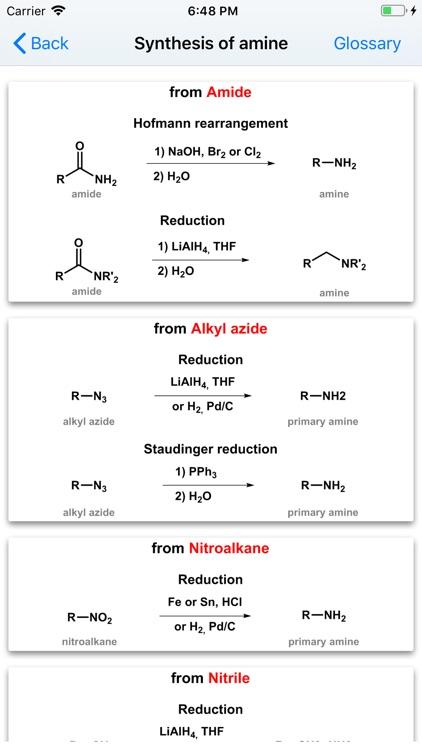 Organic Reactions screenshot-3
