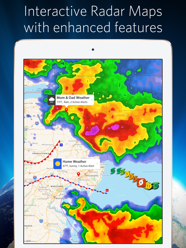 Weather Mate - NOAA Radar Maps on the App Store