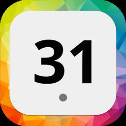 Ícone do app EzyCal - Easy Calendar & Time