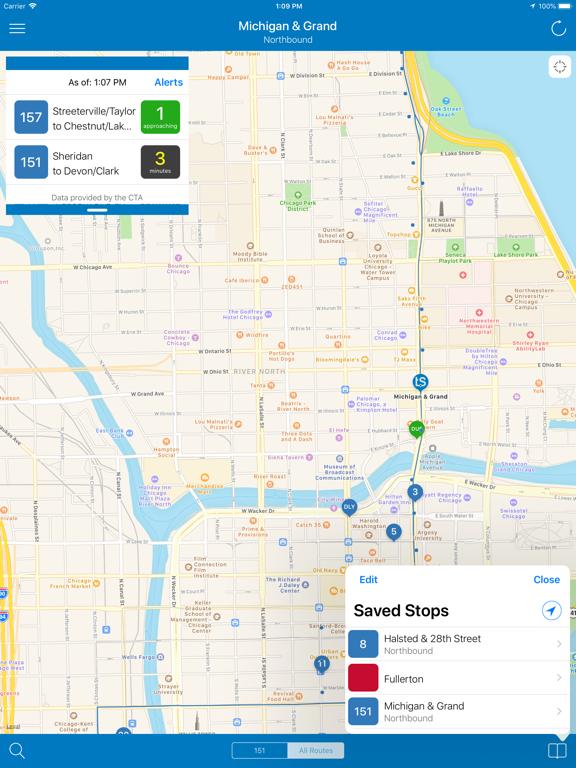 Transit Stop: CTA Tracker (Free) screenshot