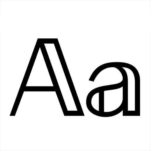 Fonts app for iphone