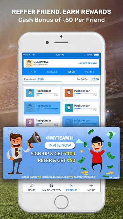 MyTeam11 - Fantasy Sports screenshot-4