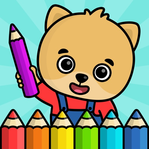 Baby coloring book for kids 2+ by Bimi Boo Kids - Games for boys and ...