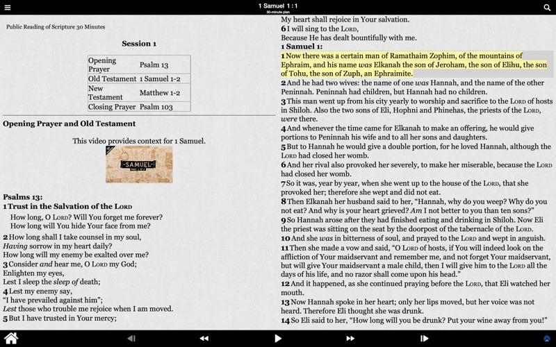 Public Reading of Scripture for Mac