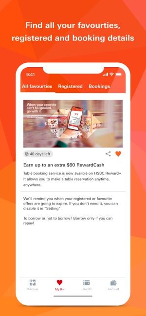 HSBC HK Reward+ on the App Store