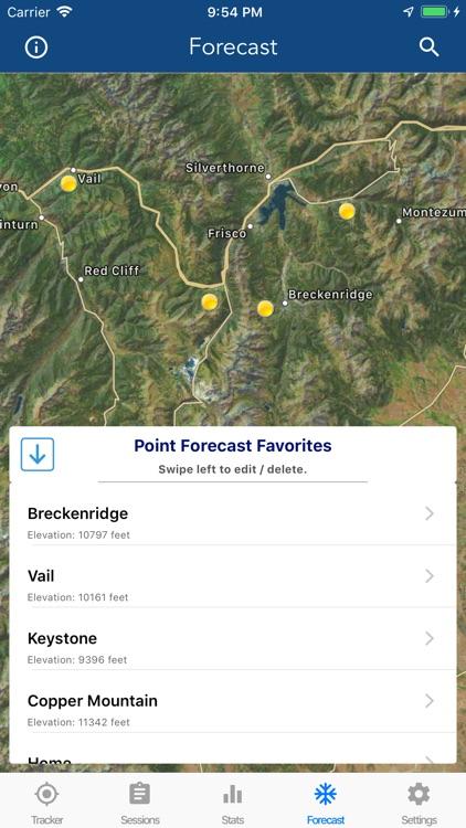 Ski Tracker & Snow Forecast screenshot-8