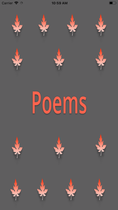 Vintage Poems screenshot #1