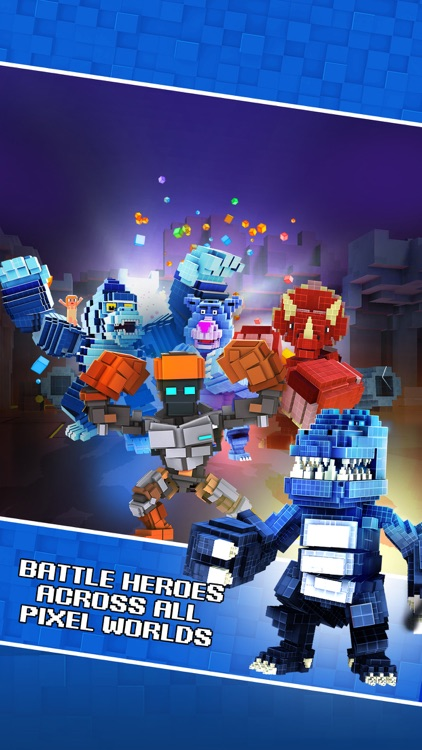 Super Pixel Heroes screenshot-4