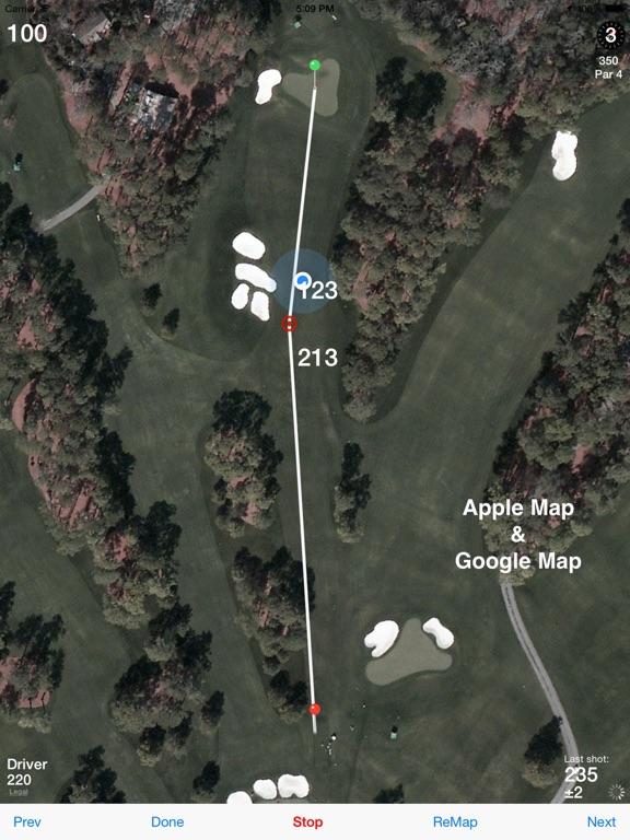 Golf GPS Caddie - Free Rangefinder Scorecard Stats & Bets (Range Finder) screenshot
