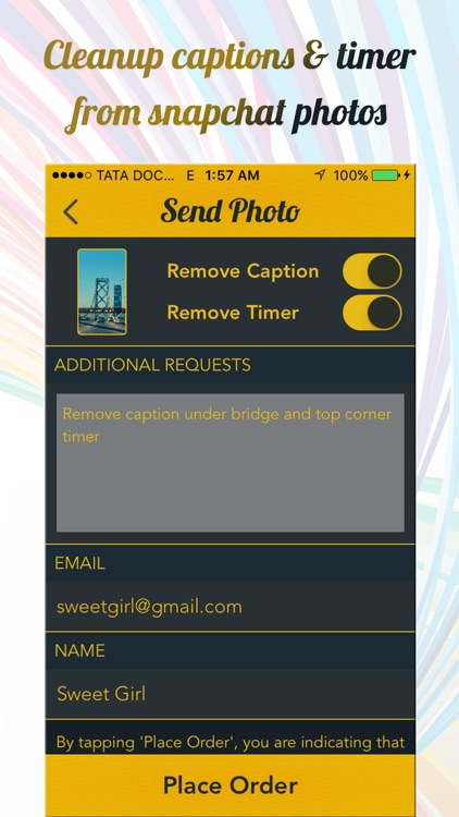 Clean Caption Pro for Snapchat screenshot-4