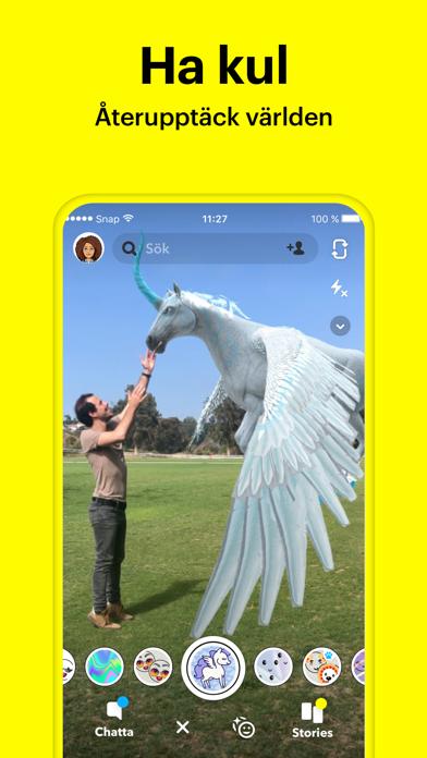 Screenshot for Snapchat in Sweden App Store