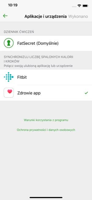 Aplikacja Fatsecret Licznik Kalorii W App Store