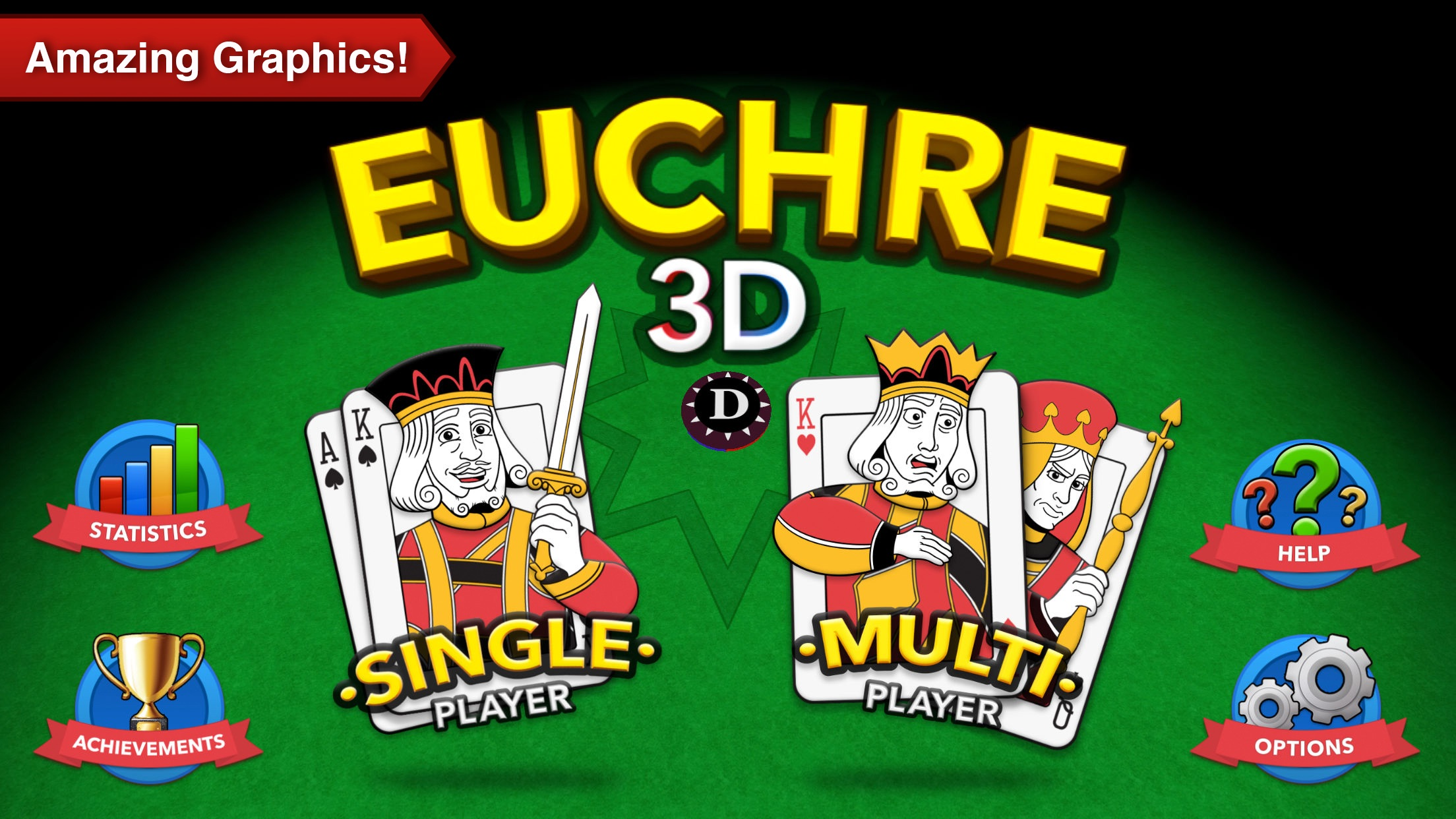Euchre 3D Pro Screenshot