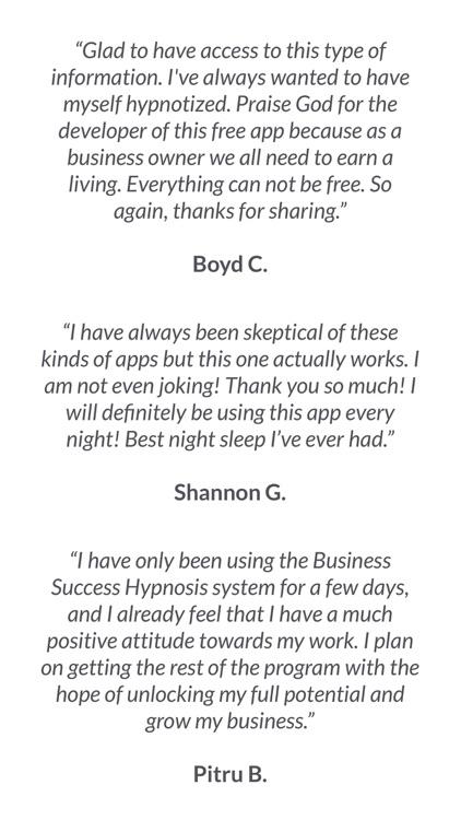 Business Success Hypnosis screenshot-3