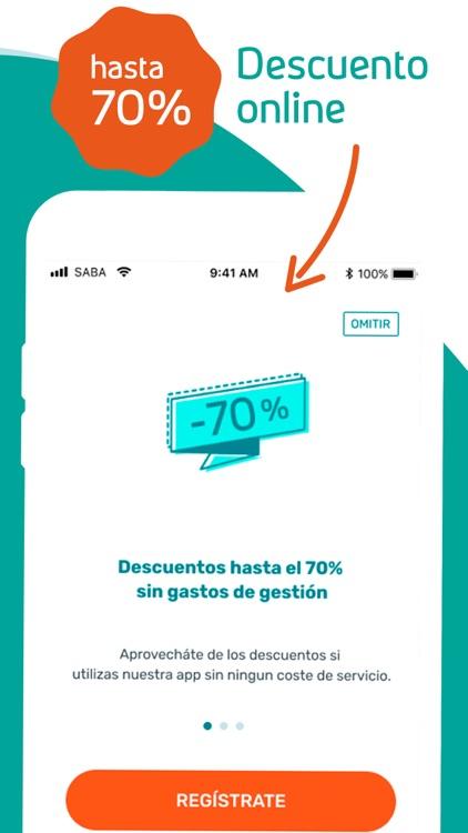 Saba - App de estacionamiento screenshot-3