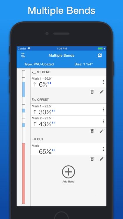 QuickBend: Conduit Bending screenshot-3