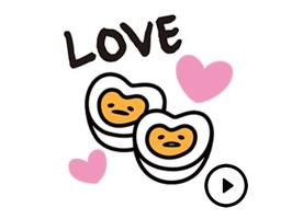 Lovely Gudetama Egg Stickers