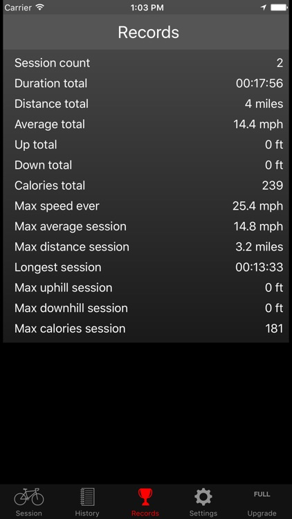 Fitmeter Bike Basic - Cycling screenshot-4