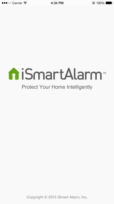 iSmartAlarm Home Security System screenshot