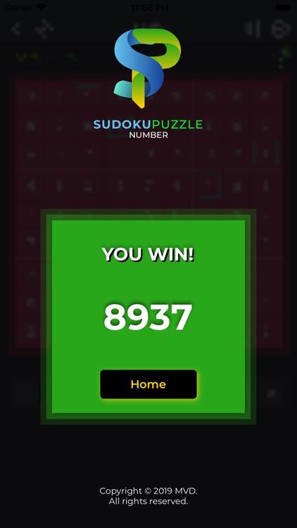 Sudoku Puzzle Number screenshot-5