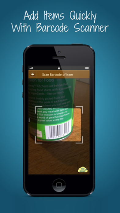 Free Shopping List Ease - Grocery List + Pantry + Coupons screenshot