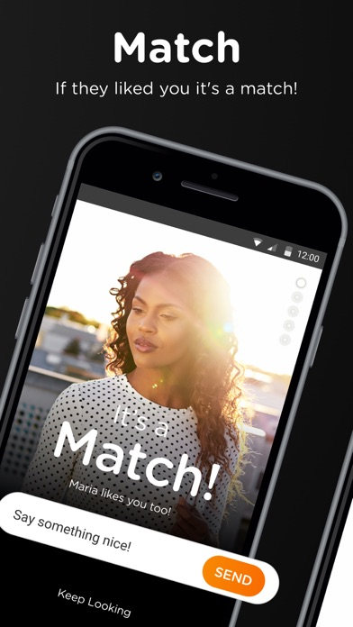 Screenshot for BLK - Look. Match. Chat. in United States App Store