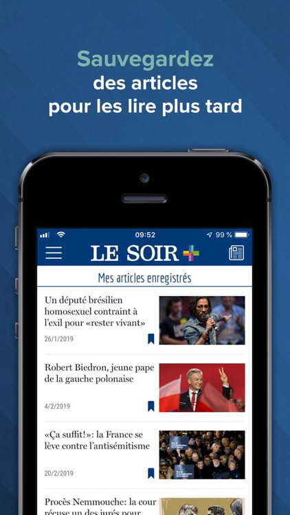 Le Soir – actu et info screenshot-4