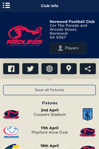 The Official Norwood FC App - náhled