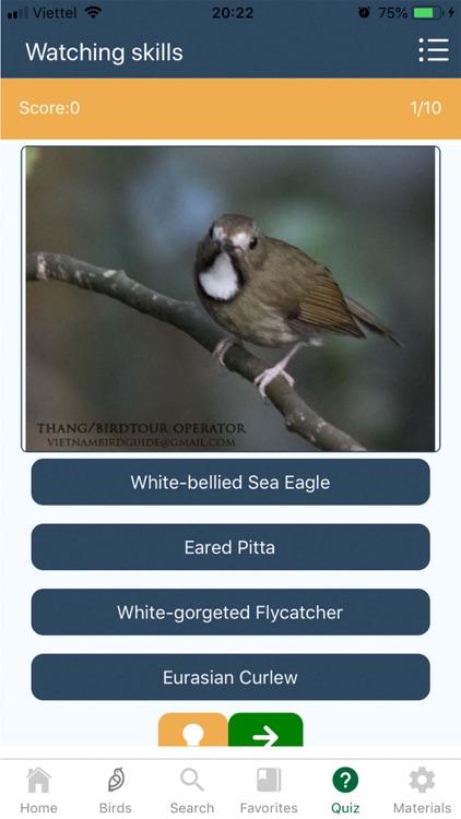 Vietnam Bird Guide screenshot-5