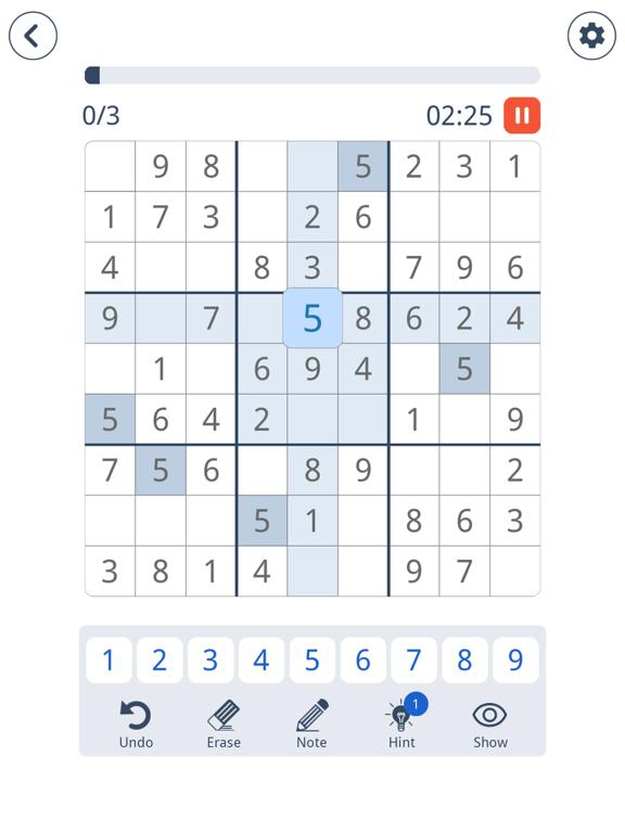 Sudoku: Brain Puzzle Game screenshot 6